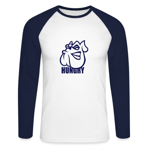 Hungry (the hook) - T-shirt baseball manches longues Homme