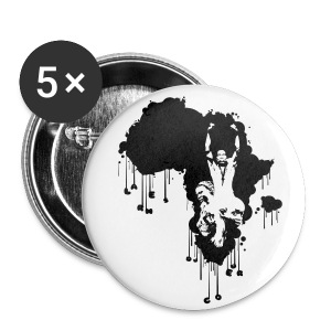 badge afrik - Badge grand 56 mm
