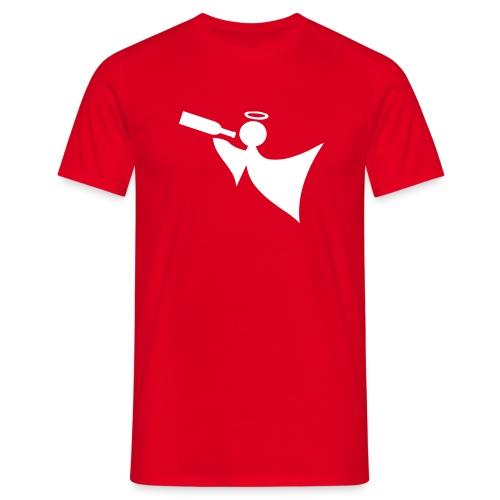 angel red - Men's T-Shirt