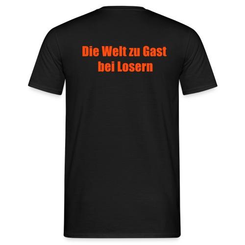 Die Welt zu Gast bei Losern WM - Männer T-Shirt