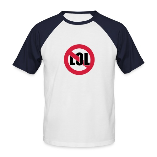 LOL - T-shirt baseball manches courtes Homme