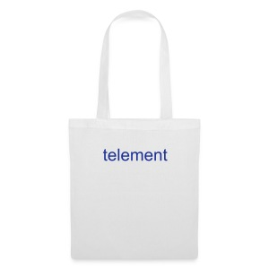 telement Tote Bag (White) - Tote Bag
