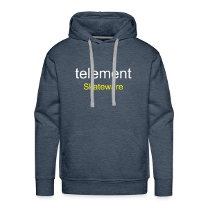 telement Hooded Sweater (Green) - Men's Premium Hoodie