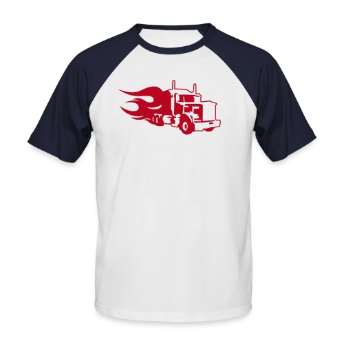 Truck T Shirt - Men's Baseball T-Shirt