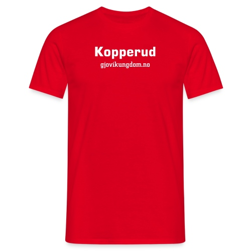 Kopperud - T-skjorte for menn