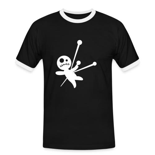 Voodoo - Männer Kontrast-T-Shirt