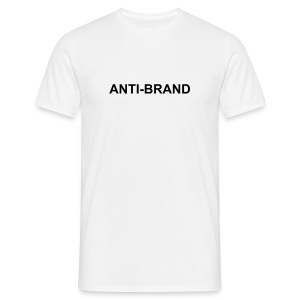 Anti-brand T-Shirt - Men's T-Shirt