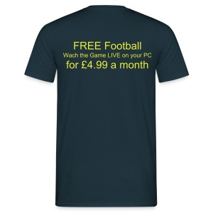FREE FOOTY t - Men's T-Shirt