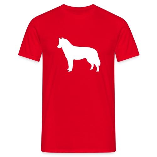 Silhouette Husky - T-shirt Homme
