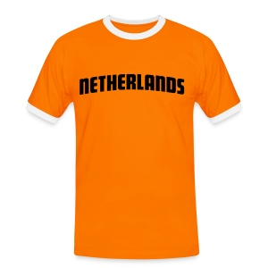 Holland - Netherlands WM T-Shirt - Männer Kontrast-T-Shirt