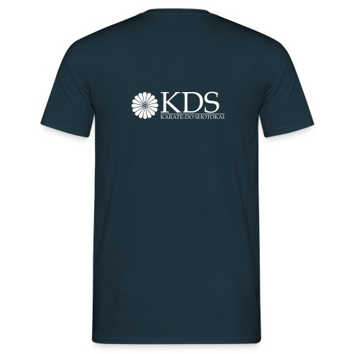 T-shirt with KDS logo on rear. Various colours. - Men's T-Shirt