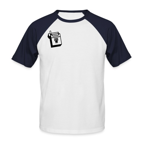 T-Shirt - Kortermet baseball skjorte for menn