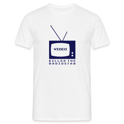 video_killed_the_radiostar - Männer T-Shirt