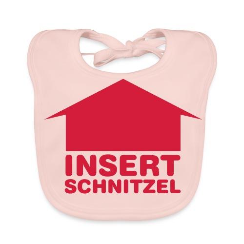 Baby - Mädchen Insert Schnitzel - Baby Bio-Lätzchen