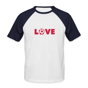 love - T-shirt baseball manches courtes Homme