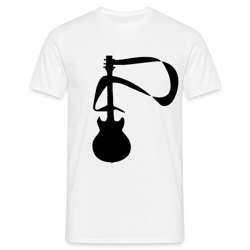 T-shirt Guitar (blanc) - T-shirt Homme