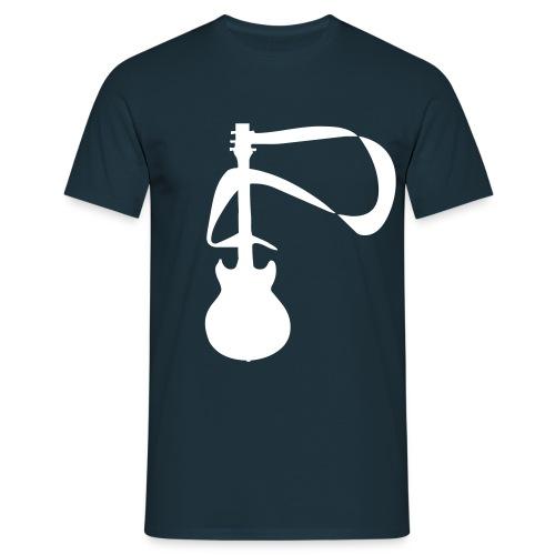 T-shirt Guitar (noir et blanc) - T-shirt Homme
