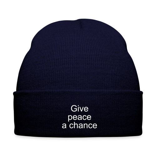 Give Peace a Chance Hat - Winter Hat