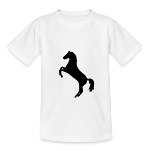T-SHIRT ENFANT MOTIF CHEVAL - T-shirt Ado