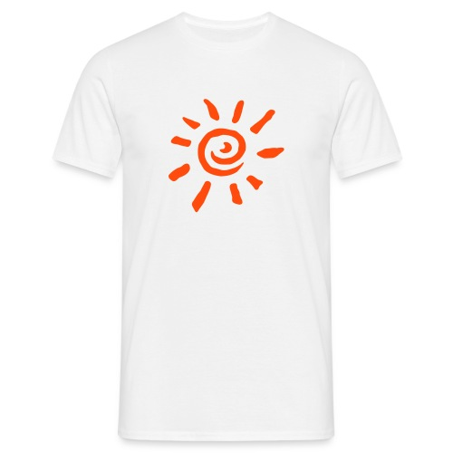 Sun white - Men's T-Shirt