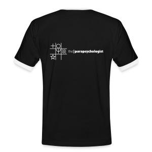 theParapsychologist T-Shirt (white sleeves) - Men's Ringer Shirt
