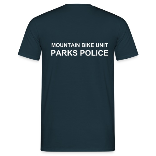 MOUNTAIN BIKE UNIT - Men's T-Shirt