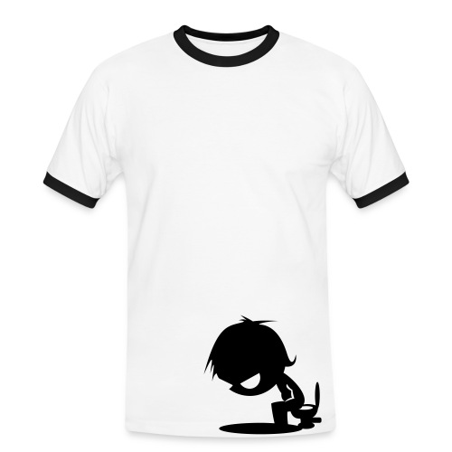 Deprimed - T-shirt contrasté Homme