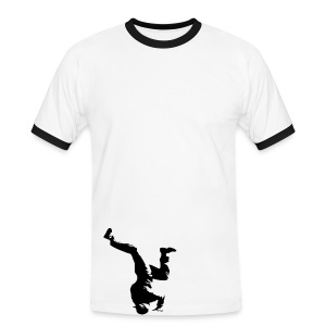 Break dance - T-shirt contrasté Homme