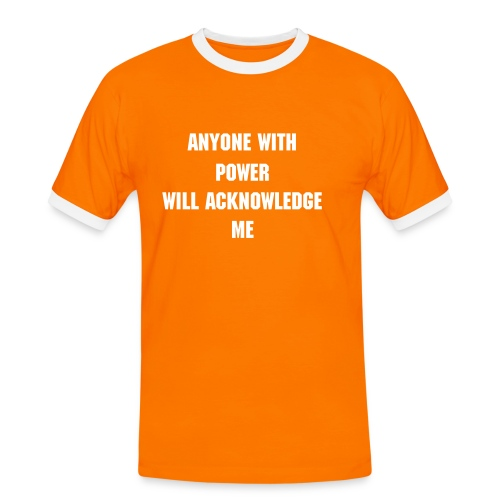 Power Identifier - Men's Ringer Shirt