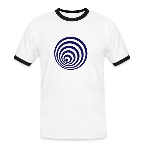 Espiral - Camiseta contraste hombre