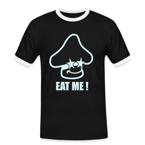 EAT ME - Mushroom Shirt (power reflex) - Männer Kontrast-T-Shirt