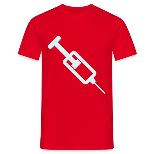 Adrenalinspritze (power-reflex) - Männer T-Shirt