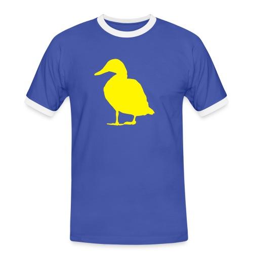 Duck t-shirt - Men's Ringer Shirt