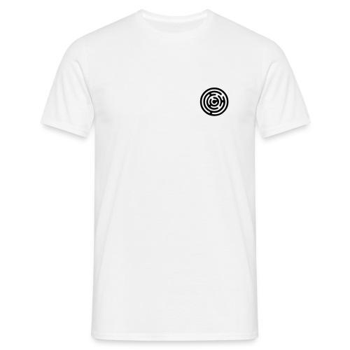 Ice white Maze tshirt - Men's T-Shirt