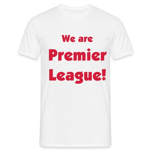 Premiership - White - Men's T-Shirt