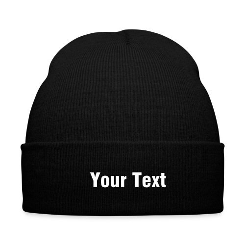 Your Text - Winter Hat