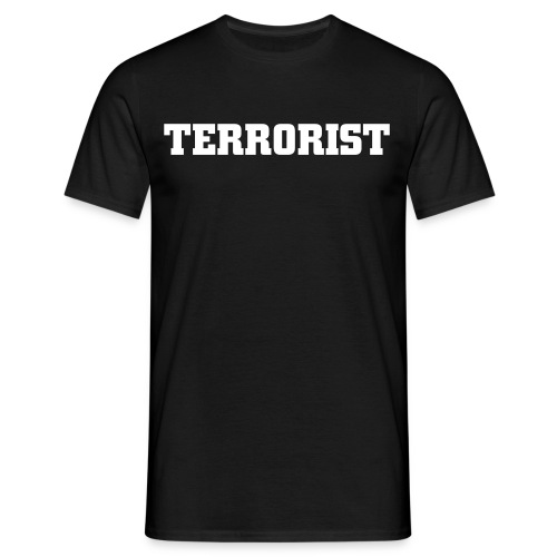 Terrorist (DevilsMind Army) - Men's T-Shirt