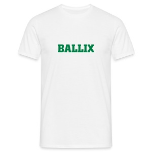 White Ballix Comfort T - Men's T-Shirt
