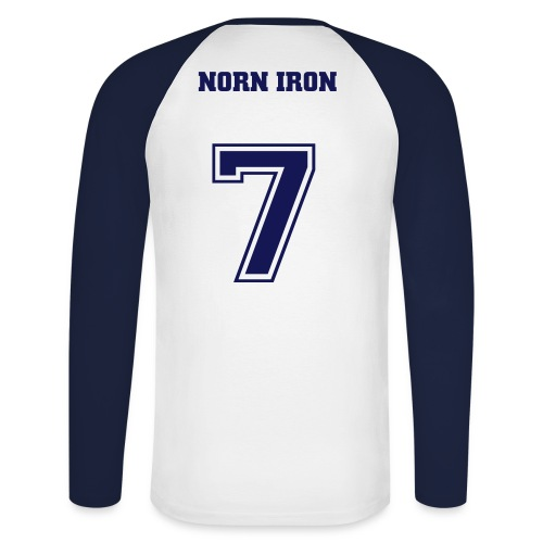 Norn Iron Raglan Longsleeve - Men's Long Sleeve Baseball T-Shirt