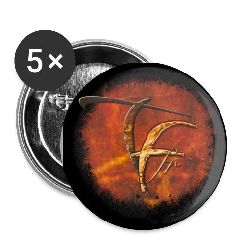 Badges New Logo TFF - Badge petit 25 mm