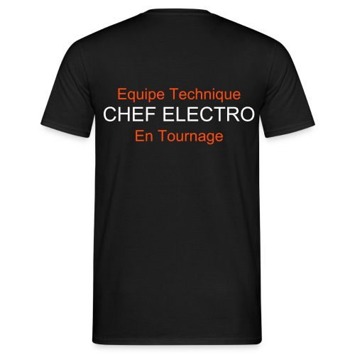 CHEF ELECTRO - T-shirt Homme