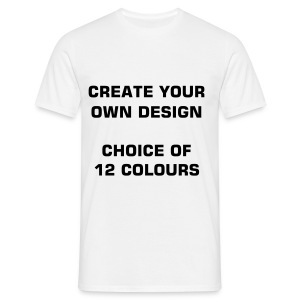 create your own design1 - Men's T-Shirt