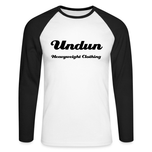 Undun Tee - Men's Long Sleeve Baseball T-Shirt