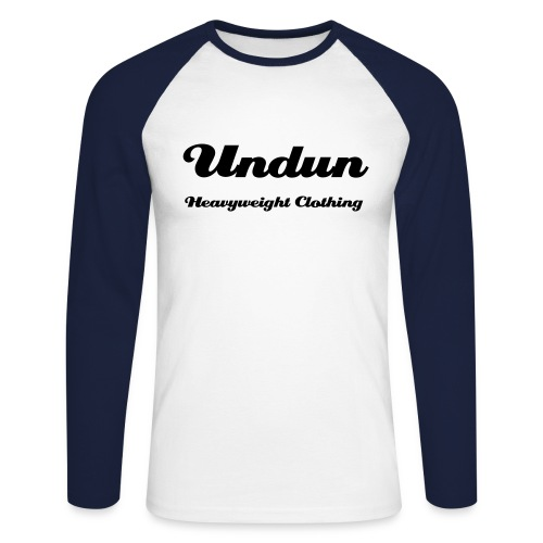 Undun Longsleeved Tee - Men's Long Sleeve Baseball T-Shirt