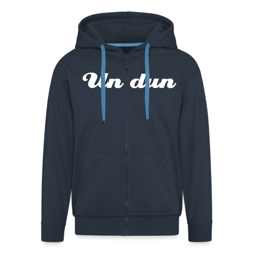 Undun Zipped Hoodie - Men's Premium Hooded Jacket