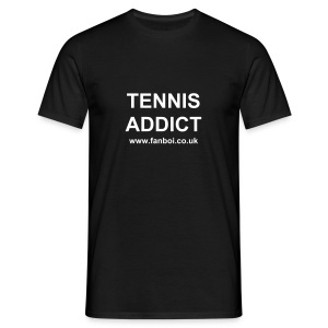 TENNIS ADDICT www.fanboi.co.uk - Men's T-Shirt