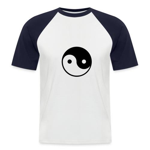 Yin/Yang - Camiseta béisbol manga corta hombre