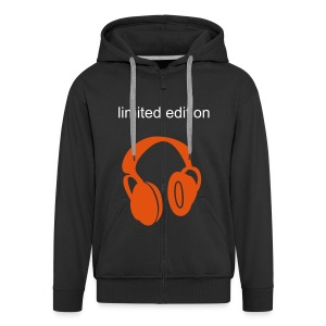 limited edition! I LOVE MUSIC - Men's Premium Hooded Jacket