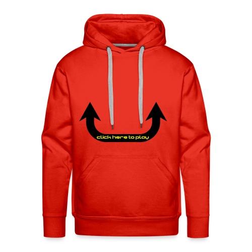 click here to play sweatshirt girl - Premium hettegenser for menn