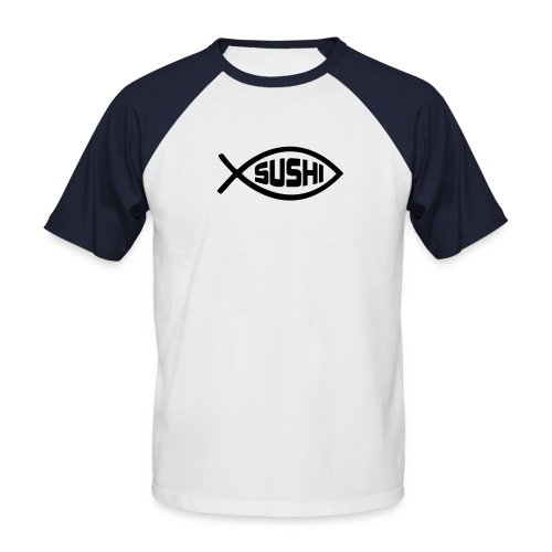 Sushi S-sleeve men - Mannen baseballshirt korte mouw